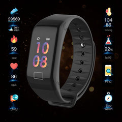Bluetooth Smart Watch Bracelet Wristband BOAMIGO Smartwatch Call Remind Pedometer Calories Heart Rate  For IOS Android Phone