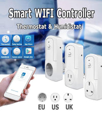Wireless WiFi Temperature Humidity APP Remote Control Timing Socket Plug Wi-Fi Smart Home Switch Socket AC 90-250V High Quality
