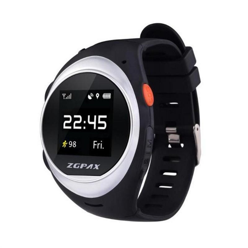 ZGPAX GPS Wifi Smartwatch GPS Tracking Watch Anti-lost Alarm Phone SOS Smart Watch for Children Elder