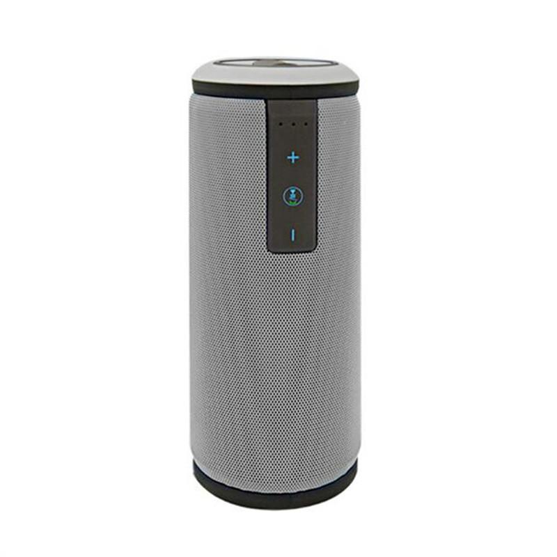 X6 Portable Bluetooth 4.0 Wireless Speaker with HD Sound and Bass Outdoor Waterproof Power Bank Function (Silver Gray)