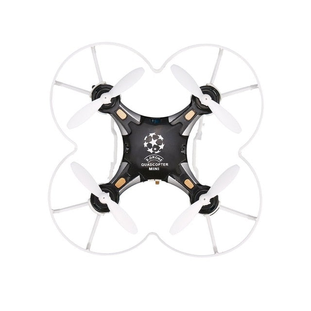 FQ777 124 2.4G 4CH Six-axis Gyro Mini Drone 360 Degree Flip Headless Mode One Key Return RC Pocket Quadcopter RTF with Light