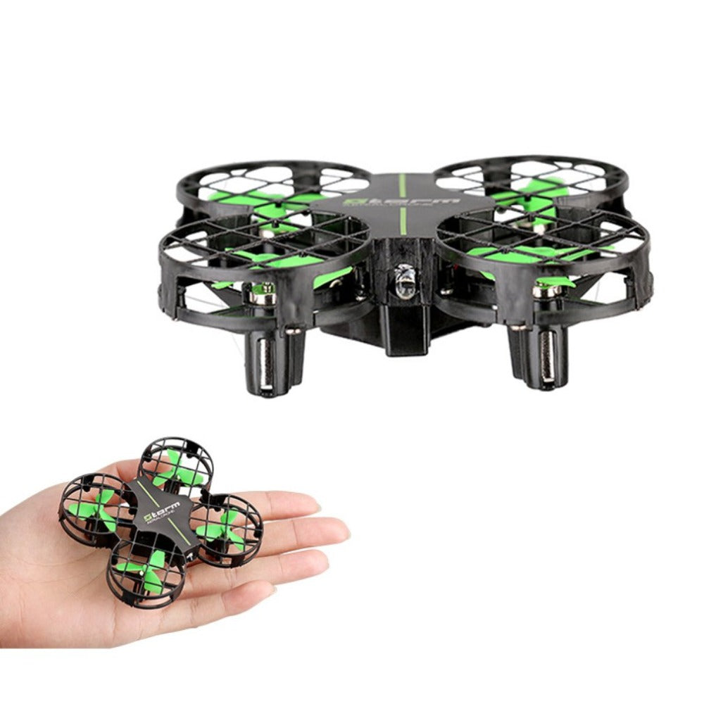 DWI D2 Mini Drone 3D Flips One-Key Return Headless Mode H/L Speed Switch Portable RC Quadcopter with LED Flash Light