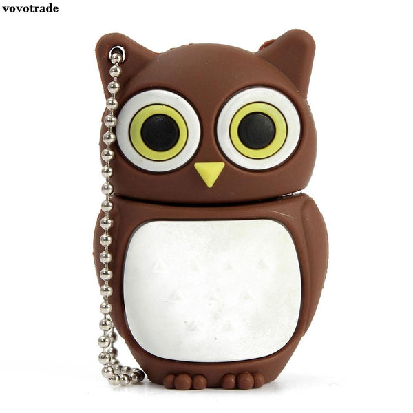vovotrade 1 24 8 16 32 GB Cartoon Owl USB 2.0 Flash Enough Memory Stick Storage Thumb U Disk PEN Super Mini Tiny flash drive