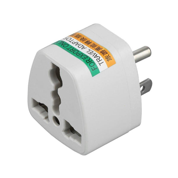 AU UK EU to US AC Power Plug Adapter Adaptor Converter Outlet Home Travel Wall