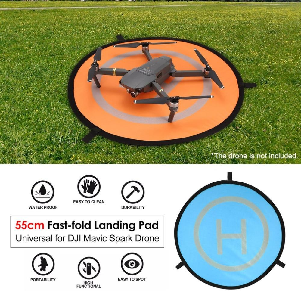 Racing Drone Accessory 55cm Fast-fold Landing Pad Universal FPV Drone Parking Apron Foldable Pad For DJI Spark Mavic Pro