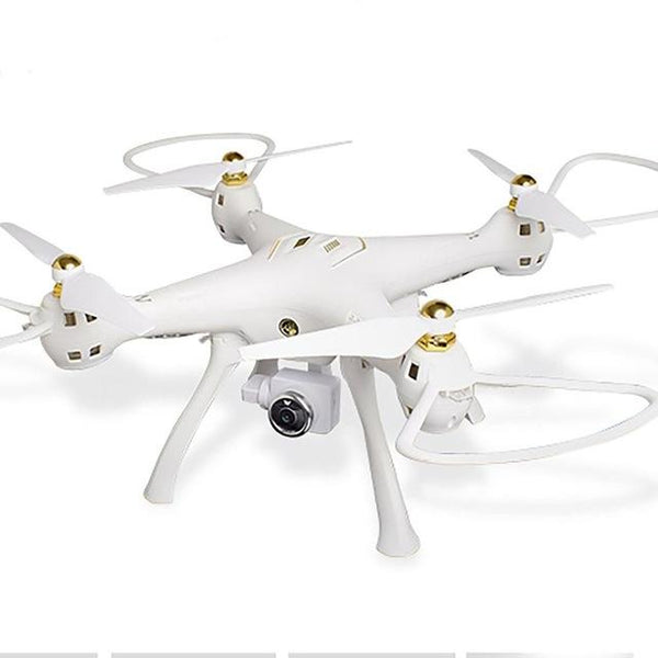 white 2.4G RC Drone 720 Camera 4CH 6-Axis Mini Quadrocopter GPS Headless Mode Altitude Hold Wifi FPV Drone Quadrocopter