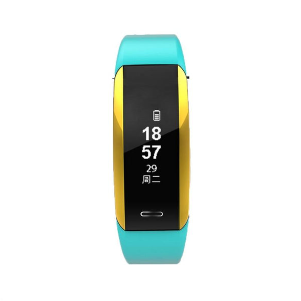 V07 Smart Bracelet Blood Pressure Heart Rate Monitor Wristband Pedometer Sleep Monitor Fitness Tracker Smartband Watch for IOS 8.0/ Android 4.4