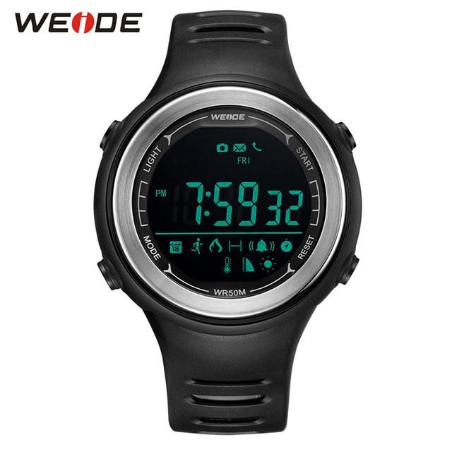 WEIDE Bluetooth Men Smart Watches Hombre Pink Smartwatch Digital Waterproof Clock Android Relogio Woman Sport Watch 2018