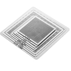 8pcs Mini Universal BGA Direct Heat Stencils Set Reballing Acessories 0.3mm 0.35mm 0.4mm 0.45mm 0.5mm 0.55mm 0.6mm 0.76mm