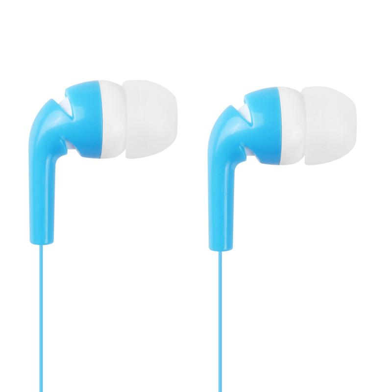 Stylish In-Ear Stereo Earphone Earbud Headphone for iPod iPhone MP3 MP4 Smartphone Blue & White