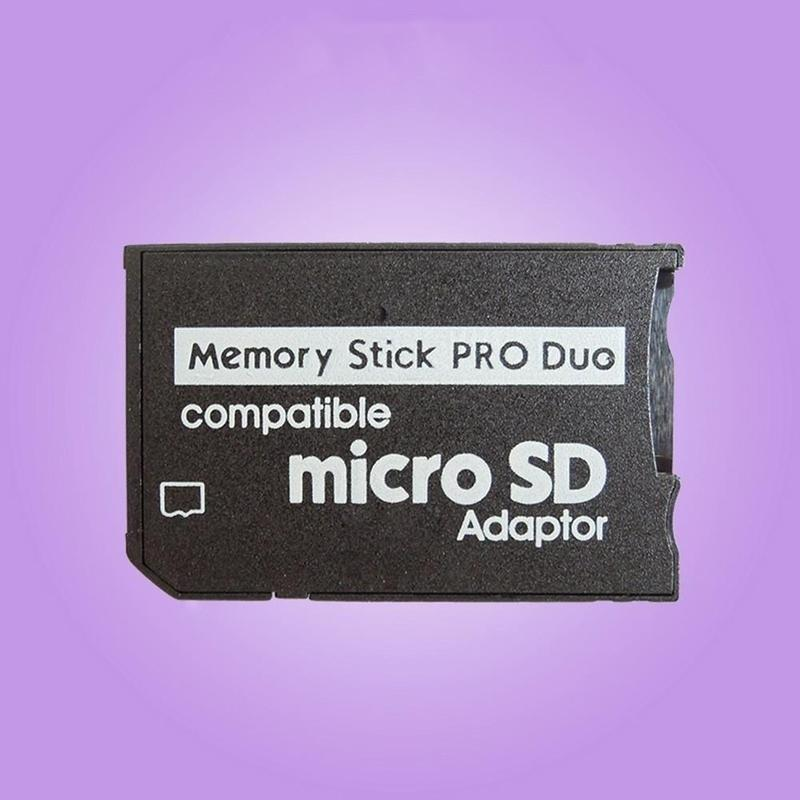 Micro SD TF To Memory Stick MS Pro Duo Reader for Adapter Converter