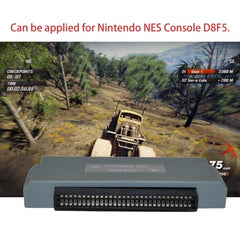 For Nintendo Professional Small Size FC To NES 60 Pin To 72 Pin Adapter Converter Suitable For Nintendo NES Game Console D8F5