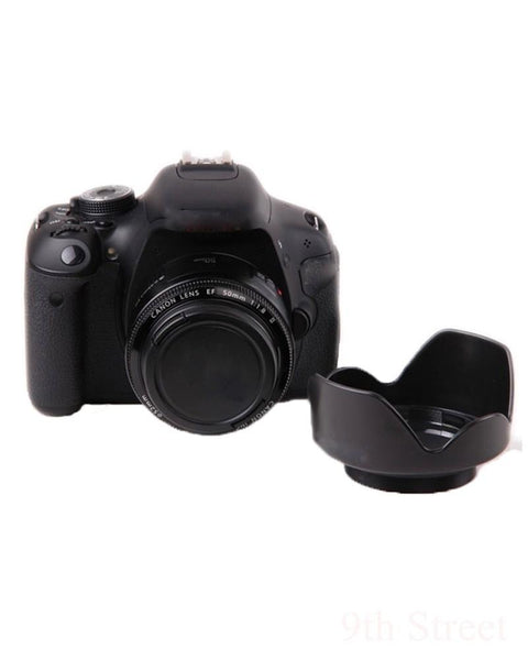 Camera 62 II Flower Lens Hood for Canon EOS EF 50mm f/1.8 II Professional Photography