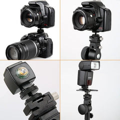 1/4 20 TRIPOD SCREW TO FLASH HOT SHOE HIGH QUALITY DSLR ADAPTER MOUNT