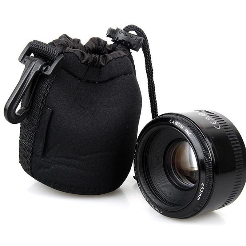 Matin Neoprene Waterproof Soft Camera Lens Pouch Bag Case
