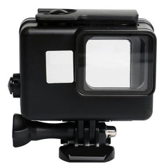 Black Action Camera 45m Waterproof Diving Housing Case Protective Shell Cover Frame for Gopro Hero 5 6 7 Waterproof Case Hot