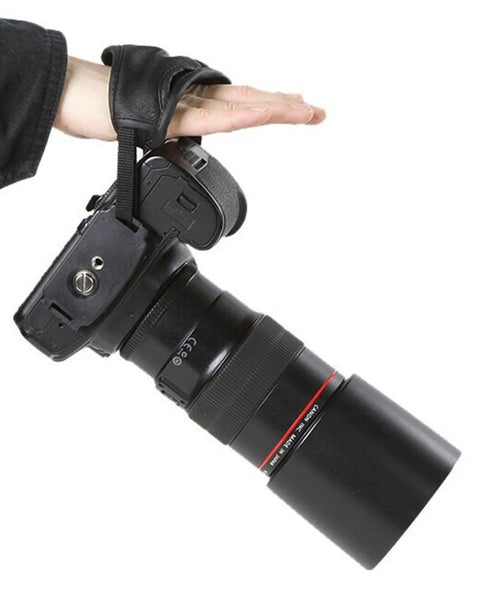 DSLR Camera Leather Grip Wrist Hand Strap Universal for Canon Nikon Carama