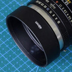 1 pcs 48mm Camera Special Metal Lens Hood RR