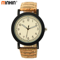 MINHIN Retro Leather Quartz Watches For Women Hot Sale Smart Watches Students Casual Wristwatches Relogios Feminino