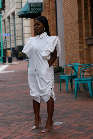 Bossy Shirt Dress