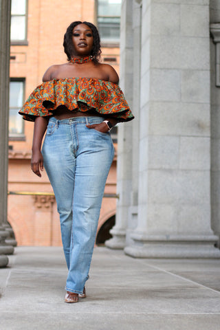Shaz Off Shoulder Top