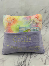 Load image into Gallery viewer, Pastel Tie Dye Reading Pillow