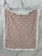 Load image into Gallery viewer, Pink Lattice with White Satin Ruffle Gift Set