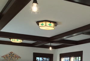 Custom Flush Ceiling light.