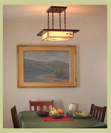 Arts Amp Crafts Light Fixture