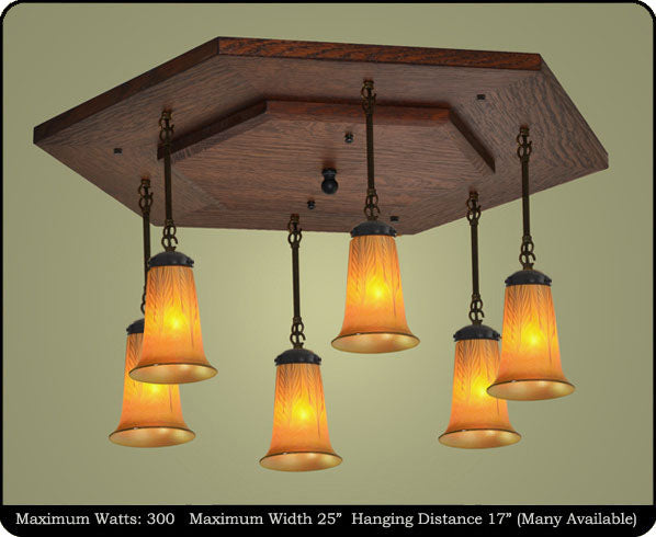 Mission Pendant Light Fixture #250