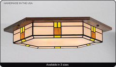 Contemporary Flush Craftsman Light #209
