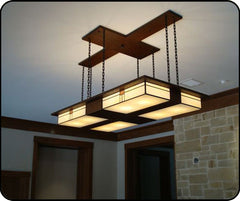 Custom Mackintosh Chandelier in Great Room