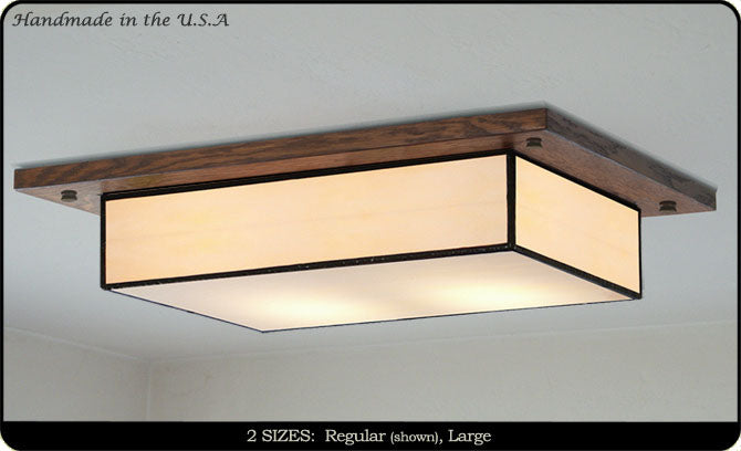 Mission Style Ceiling Light #704