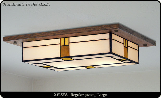 Mission Style Ceiling Light Fixture 709