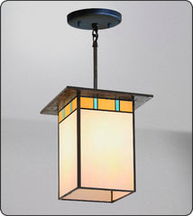 Mission Hanging Pendant Light #211