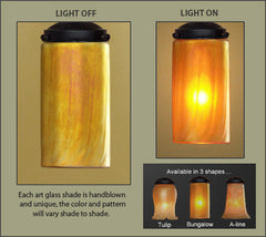 Craftsman Art Glass Shade
