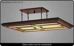 Craftsman Ceiling Light #961