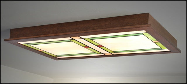Flush Craftsman Ceiling Light #561