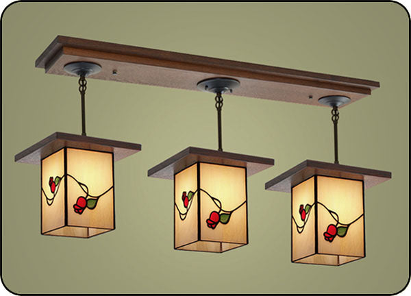 Craftsman Style Lighting Fixture #502