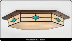6-Sided Ceiling Light #208