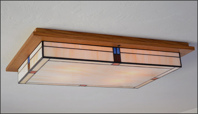 Large Flush Ceiling Light Fixture