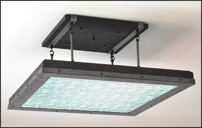 Industrial Style LED Light Fixture