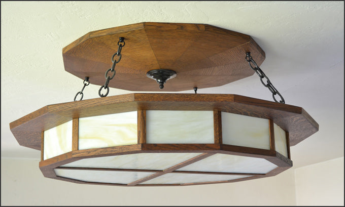 Lodge Style Light Fixture - Large Size