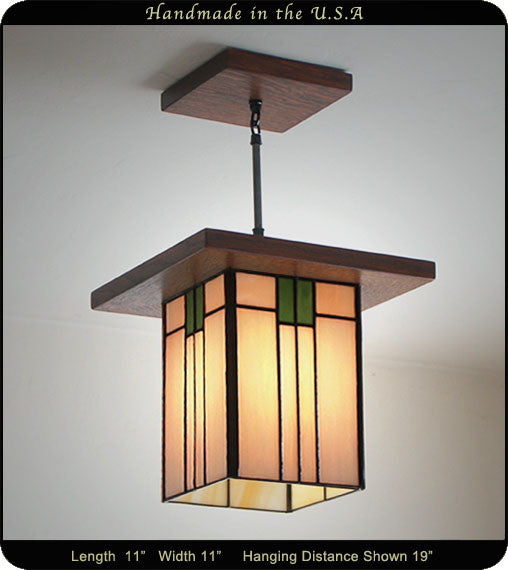 Prairie Style Mission Lantern Made In The Usa Mission Studio