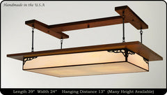 Prairie Style Light Fixture Antique #901