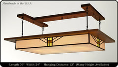Prairie Light Fixture Bungalow #903