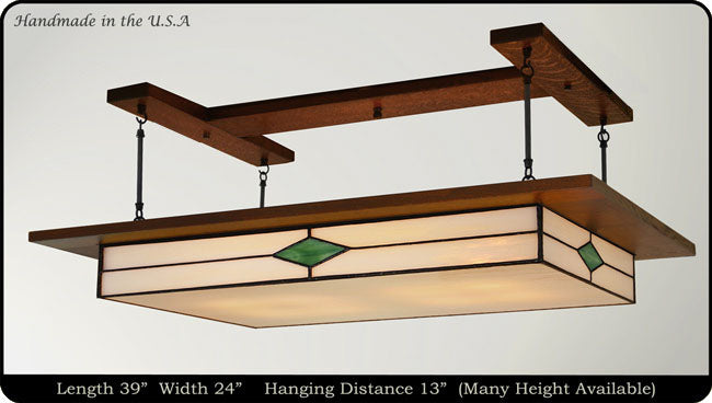 Prairie Lighting Fixture Traditional #908