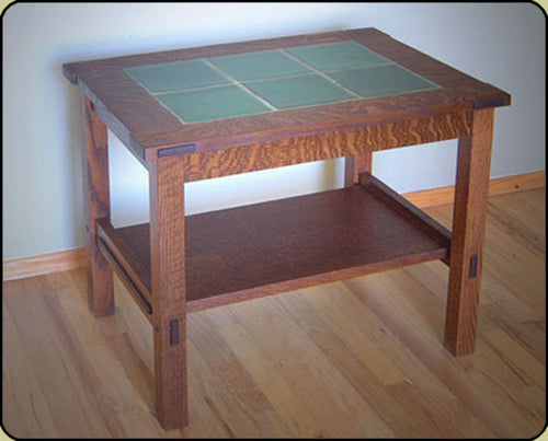 Rookwood Tile Top Table