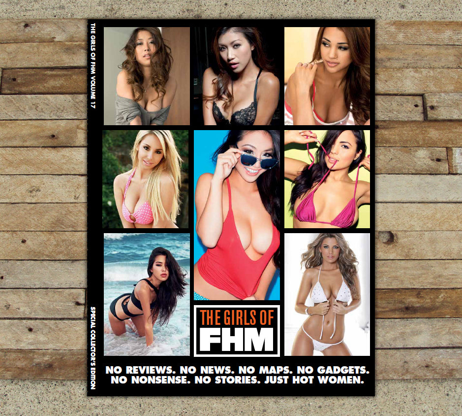 THE GIRLS OF FHM MAGAZINE