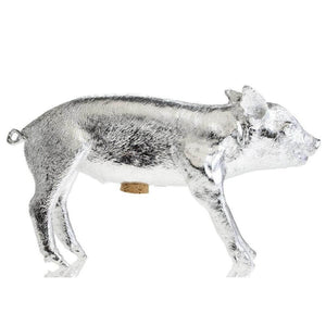 Bank in the Form of a Pig - Silver